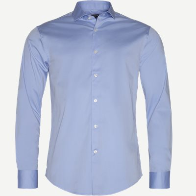 Farrel5 Skjorte Slim | Farrel5 Skjorte | Blå